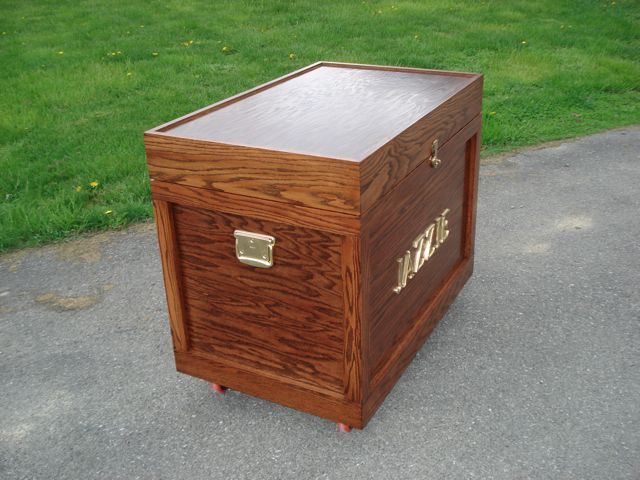 Tack Trunk Side View