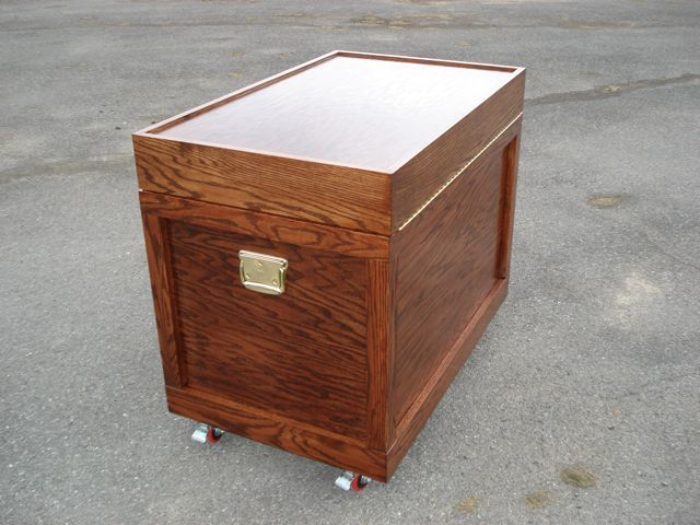 Tack Trunk Side/Back View