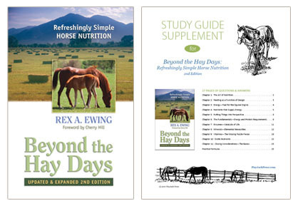 Beyond the Hay Days book & study guide supplement BHD-set