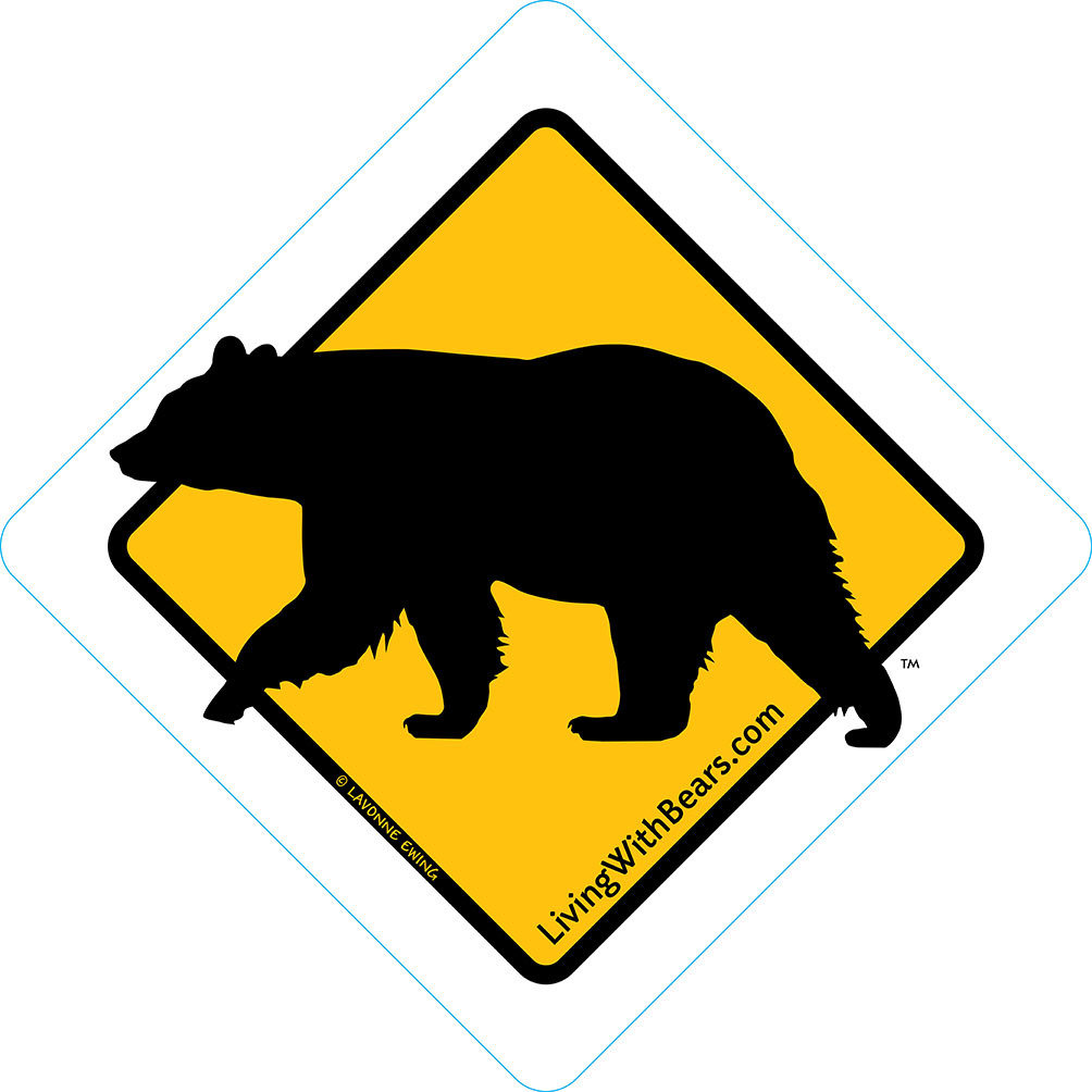Black Bear Sign Artwork (GOLD) SGN-GD1