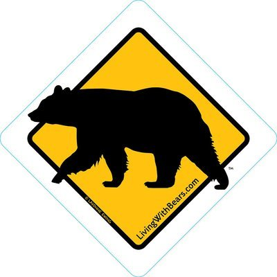 Black Bear Sign Artwork (GOLD)