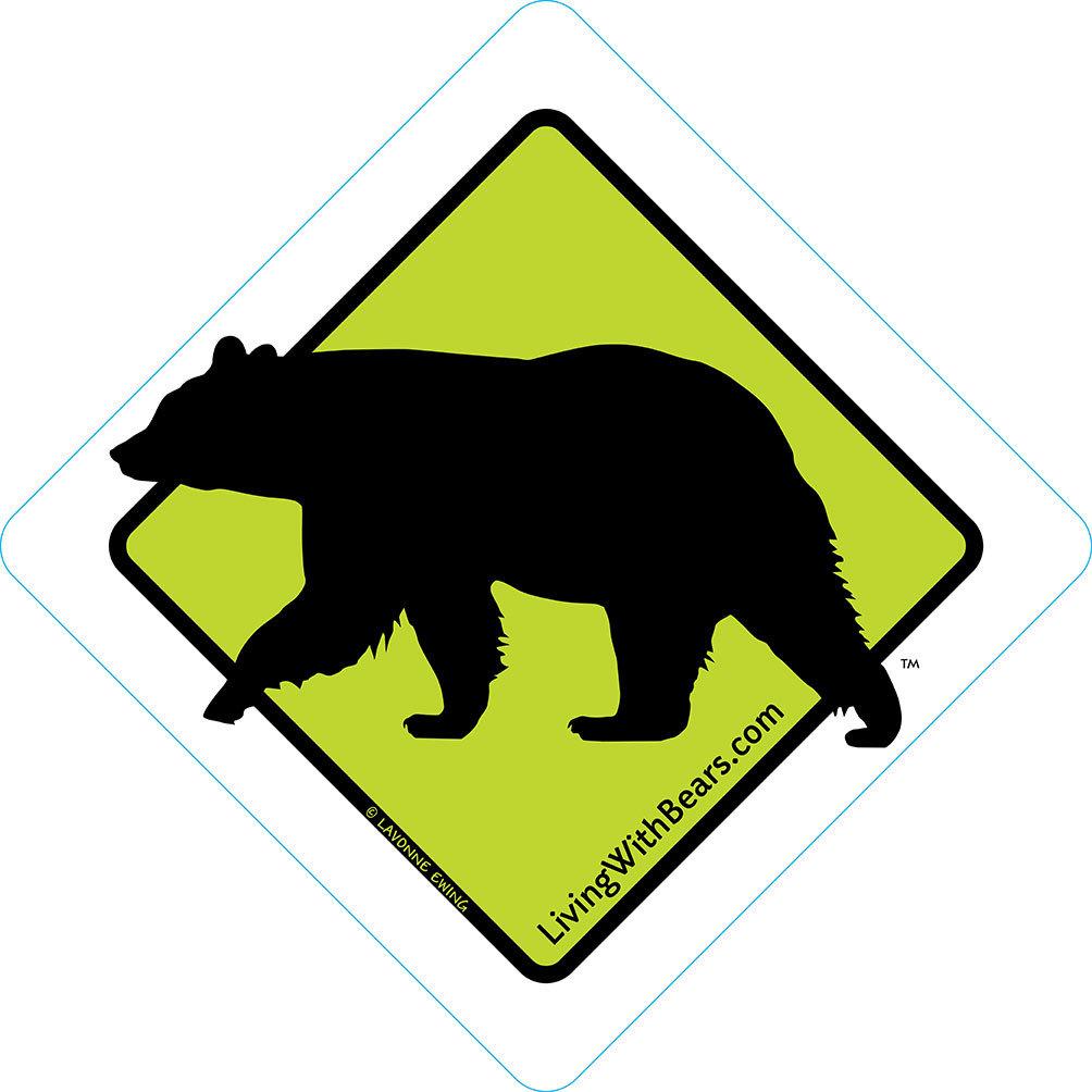 Black Bear Sign Artwork (GREEN) SGN-GR1