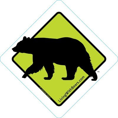 Black Bear Sign Artwork (GREEN)