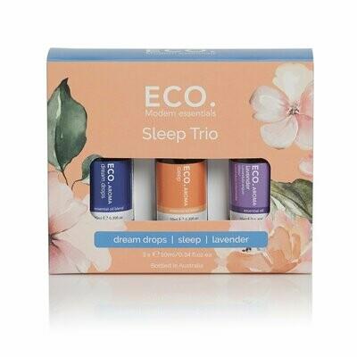 ECO. Sleep Aroma Trio (Sleep Blend, Dream Drops, Lavender)