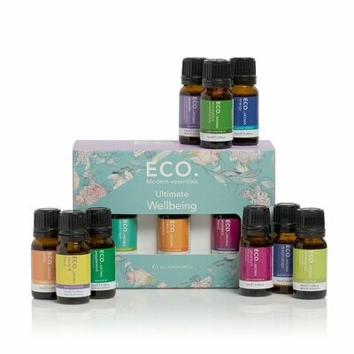 ECO. Ultimate Wellbeing 12 Pack (12 x 10ml Essential Oils)