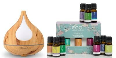 Beech Diffuser & ECO. Ultimate Wellbeing 12 Pack