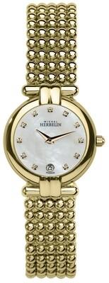 Ladies Michel Herbelin PERLES watch 16873/BP59