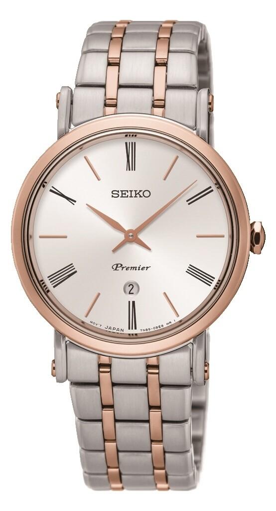 Seiko SXB430P1 ladies PREMIER Two Colour Quartz Watch
