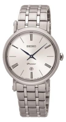 Seiko SXB429P1 Ladies PREMIER Stainless Steel Watch