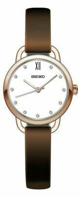 Seiko SUR698P2 Ladies Rose Gold Plated Watch