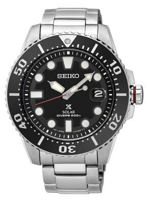 Seiko SNE437P1 Gents PROSPEX Solar Quartz Divers Watch