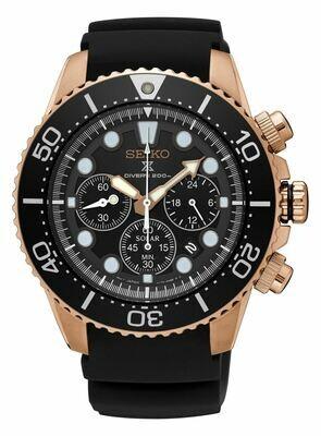 Seiko SSC618P1 Gents Solar Quartz Chronograph Watch