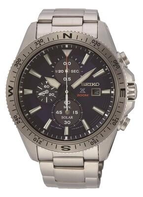 Seiko SSC703P1 Gents Quartz Solar Quartz Chronograph Watch