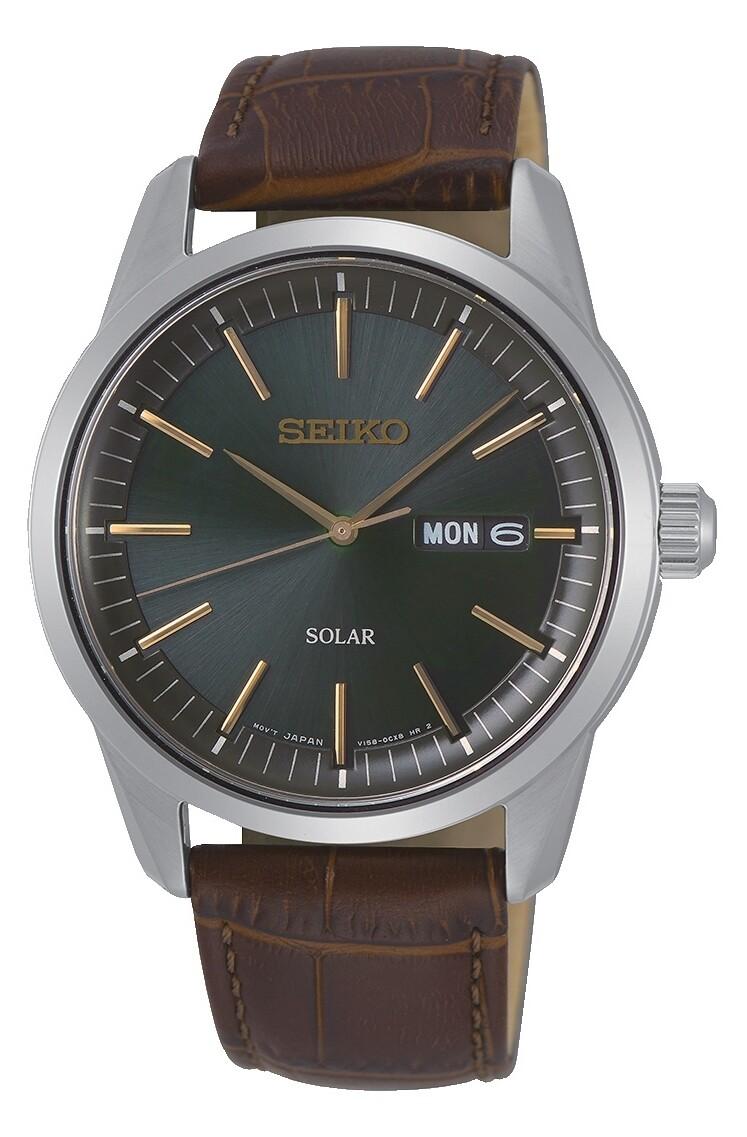 Seiko SNE529P1 Gents Solar Powered Quartz Watch