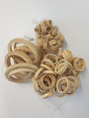 Bamboo Rings Natural