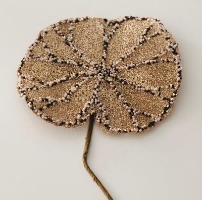 Large Jewelled Lotus Leaf