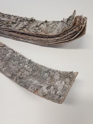 Birch Bark Strips White Washed