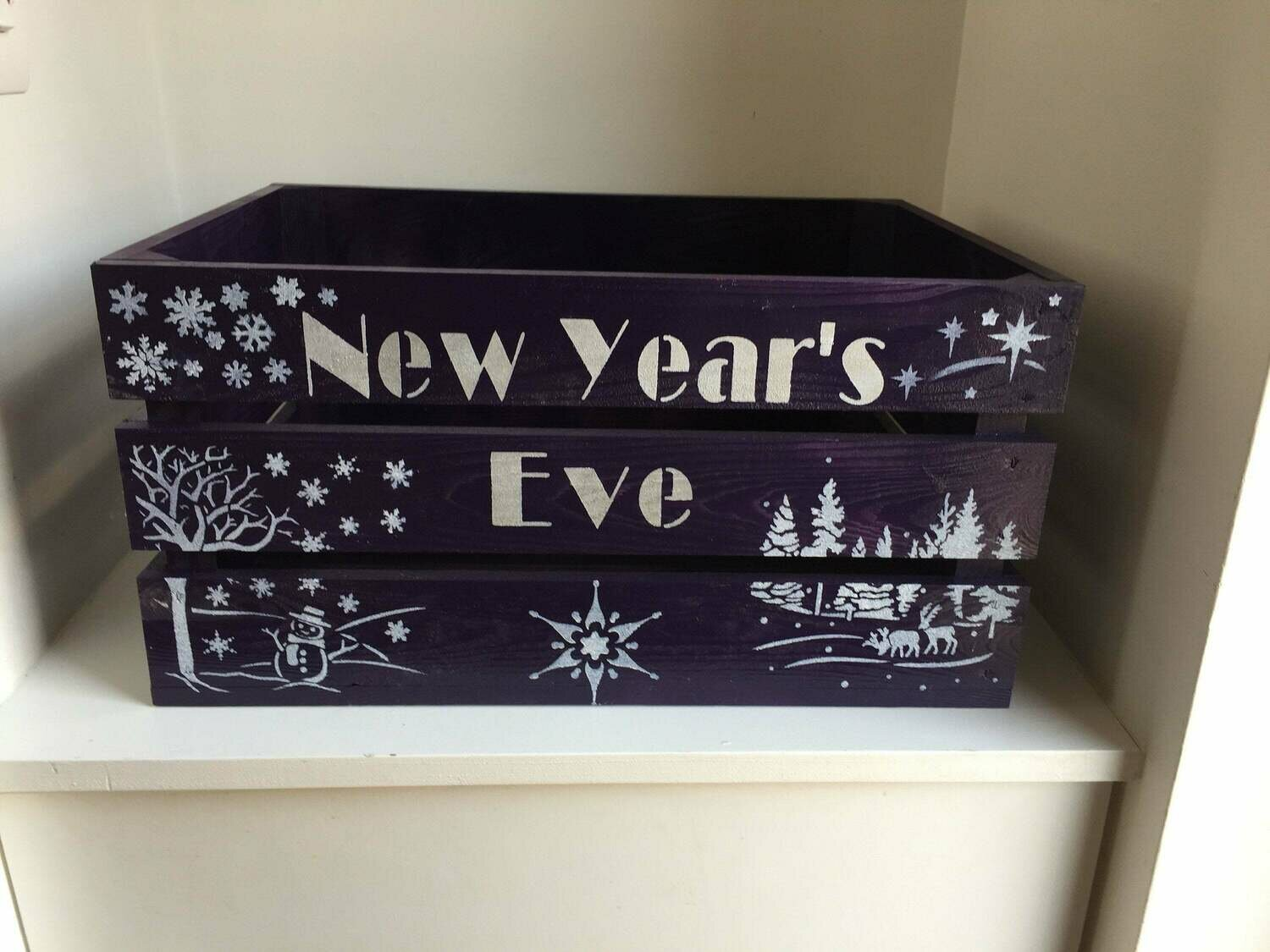 Personalised New Years Eve Box Christmas Hamper