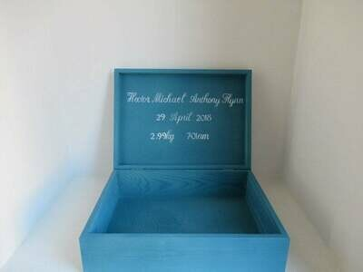 Personalised keepsake baby's firsts special box, secret treasures Memory Box Bespoke Childrens Gift Box