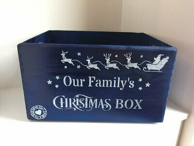 Large Christmas box