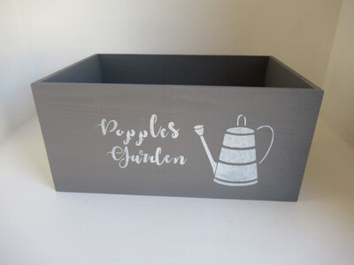 Personalised Unique Bespoke decorative shabby chic wooden Boxes Crates