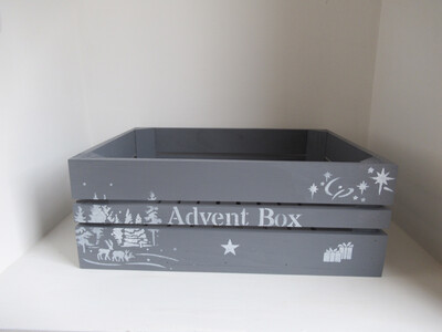 Personalised Advent Calendar Box