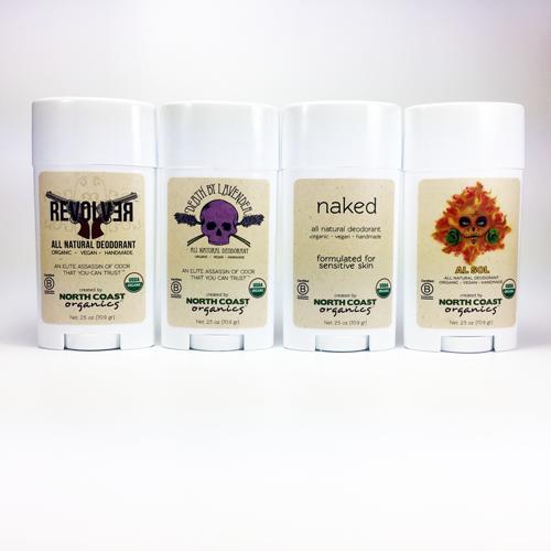Organic Deodorant Collection