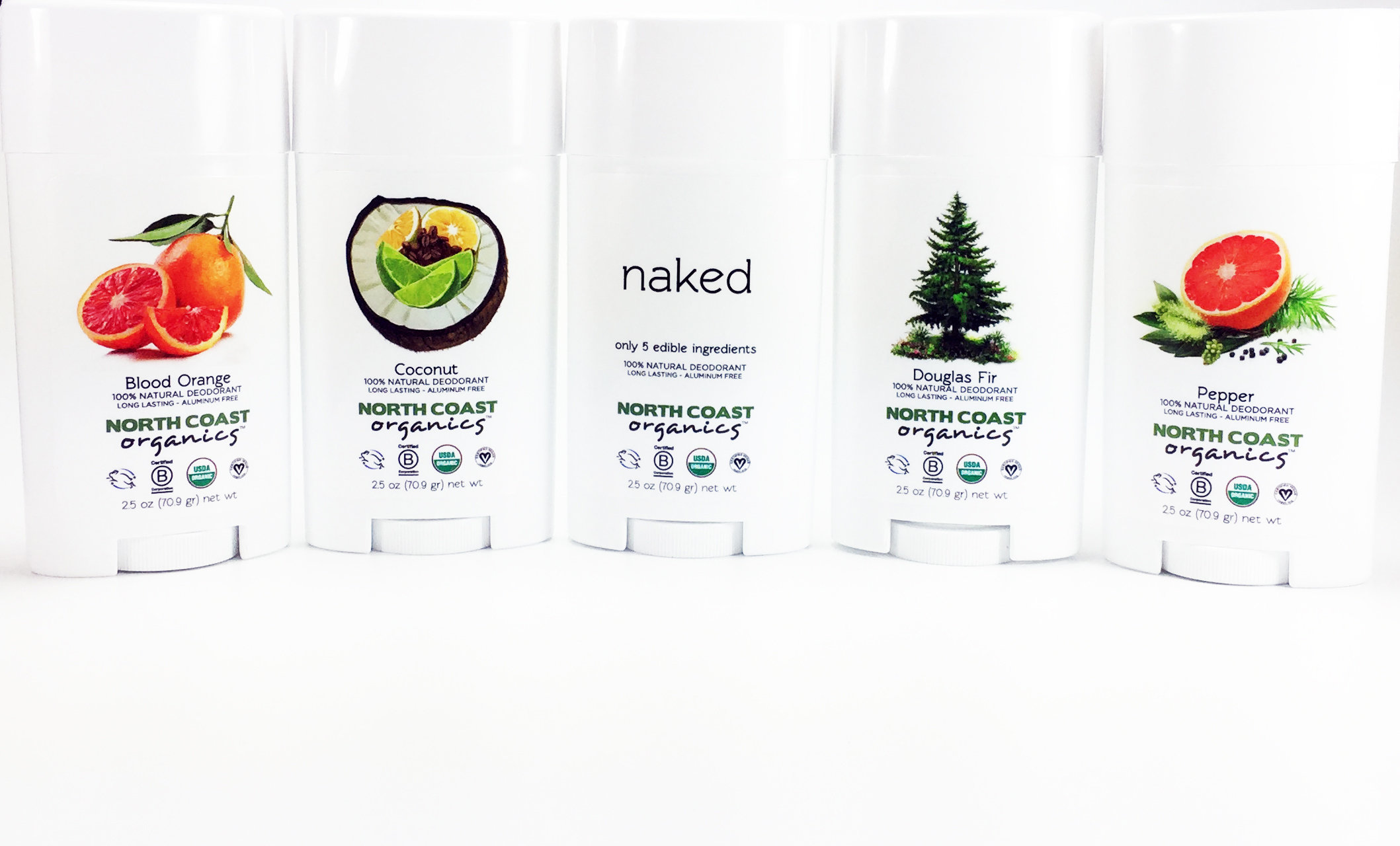 Organic Deodorant Collection