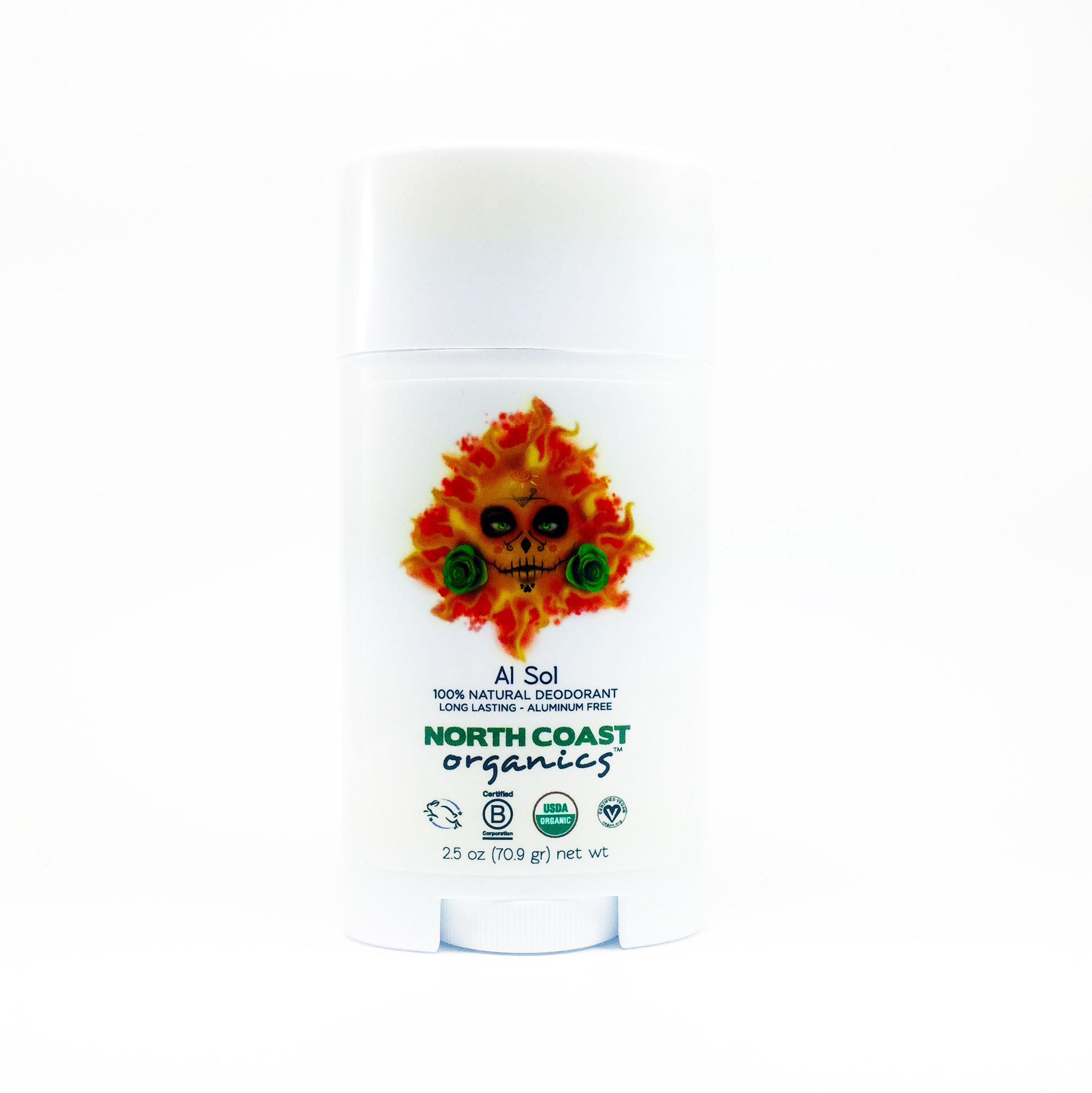 AL SOL - Organic Deodorant 2.5oz 1004