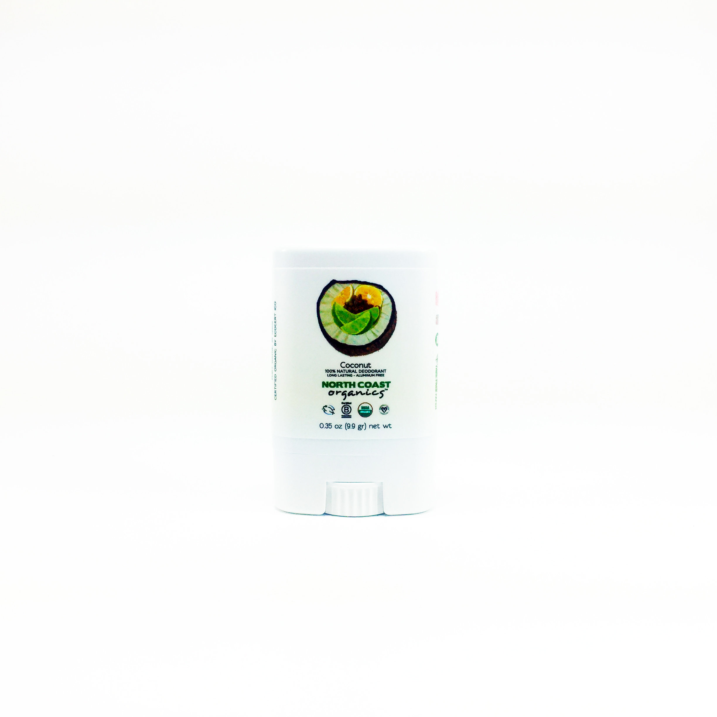 Coconut - Travel Size Organic Deodorant 0.35 oz 2008