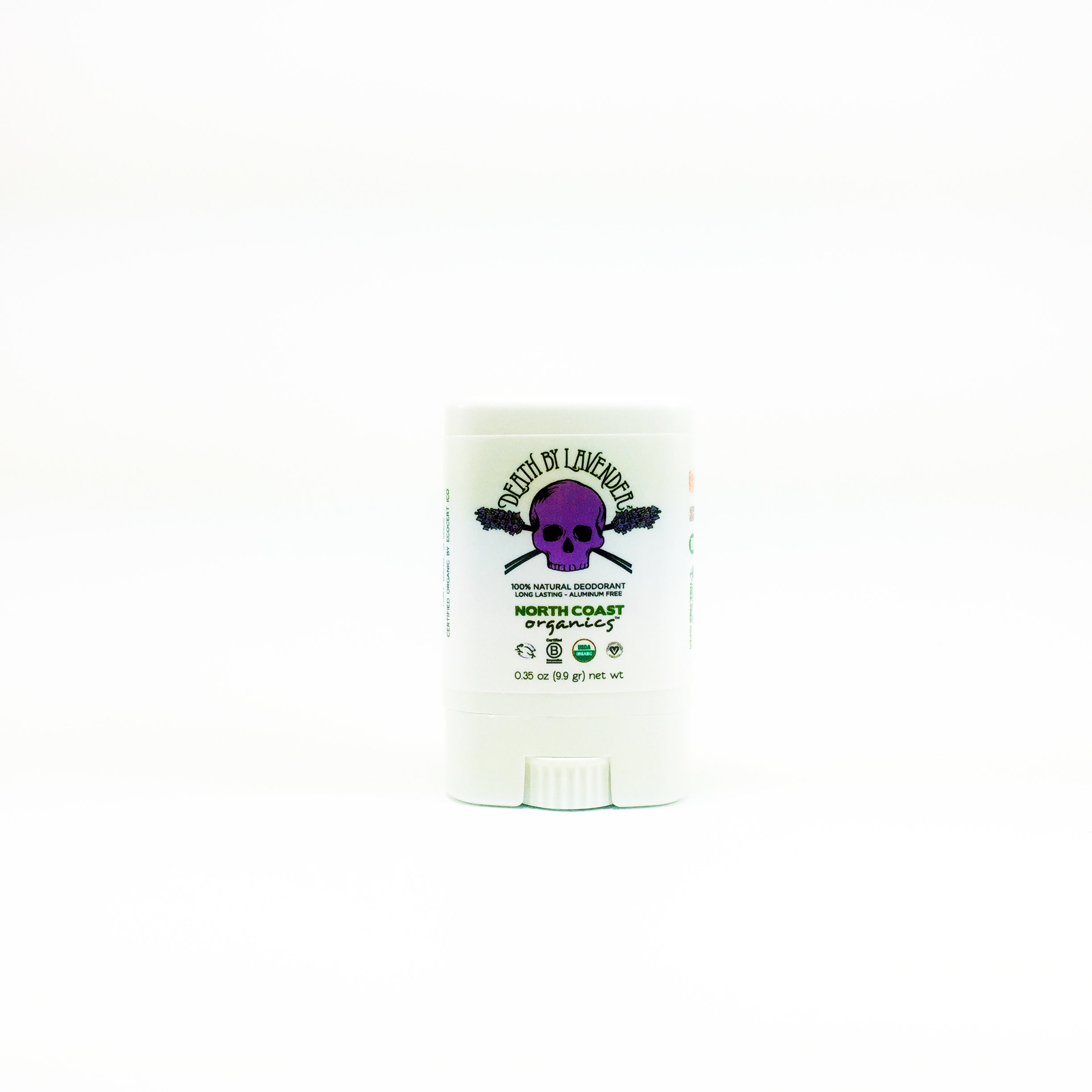Death By Lavender - Travel Size Organic Deodorant 0.35 oz 2001