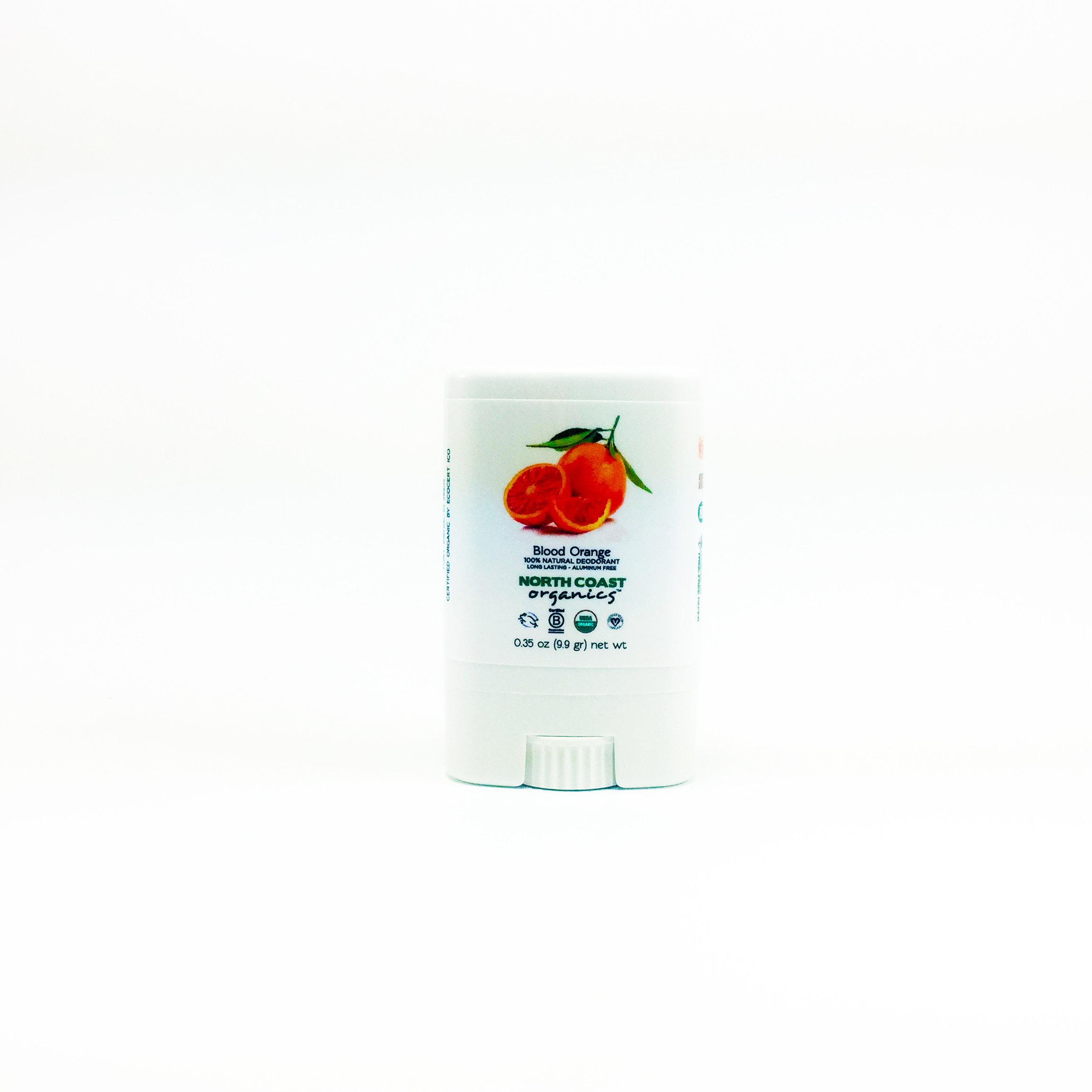 Blood Orange -  Travel Size Organic Deodorant 0.35 oz 2005