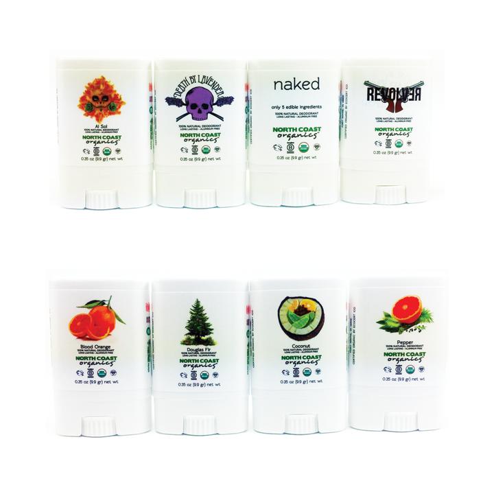 Organic Deodorant Travel Size 8 Pack 9996