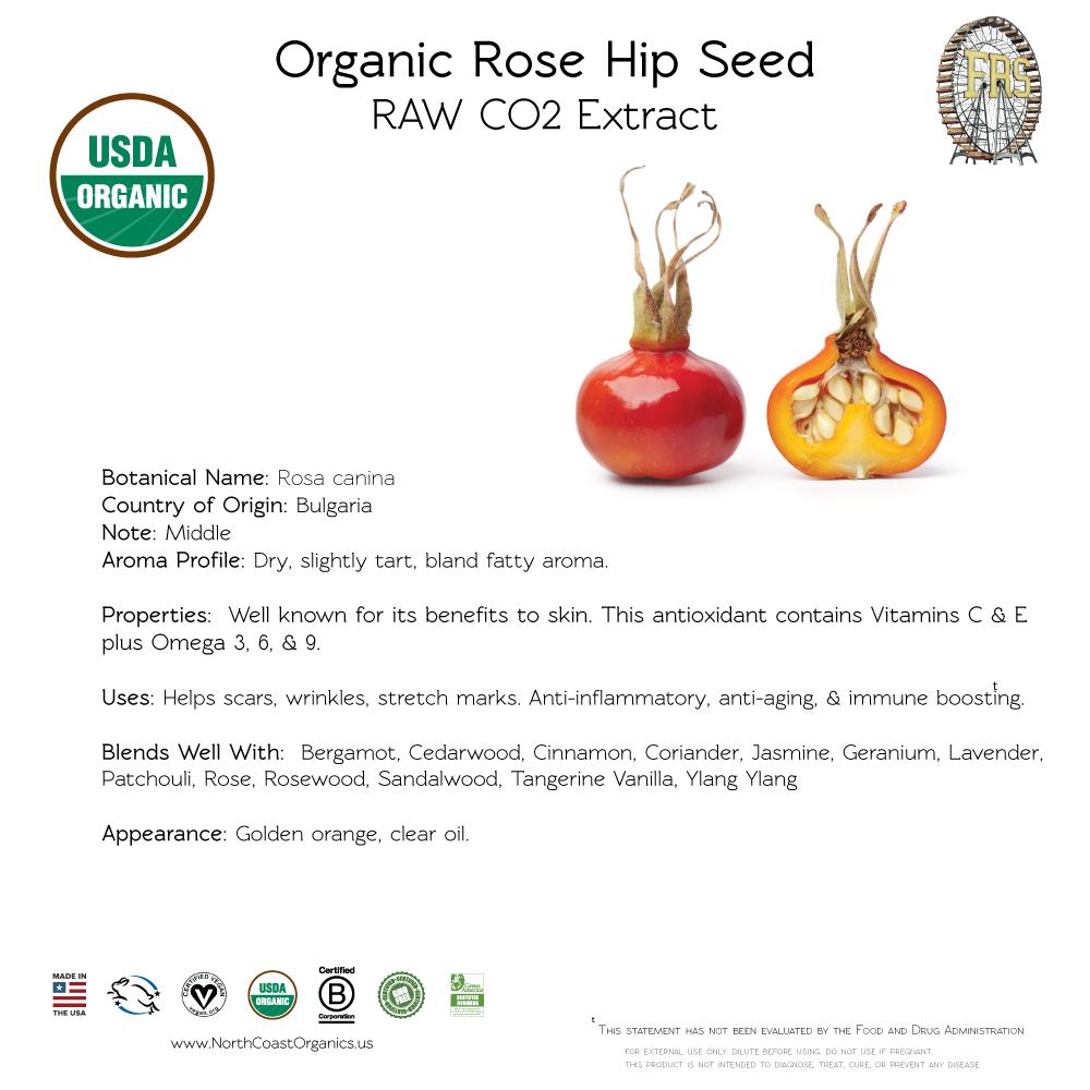 Rose Hip Organic Essential Oil