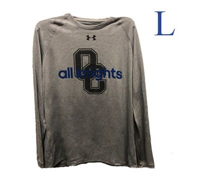 UA Grey All Knights Long Sleeve Large