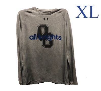 UA Grey All Knights Long Sleeve X Large