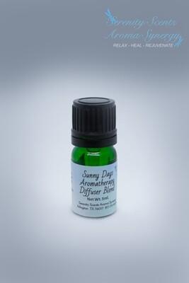 Sunny Days – Diffuser Blend – 5ml dropper bottle