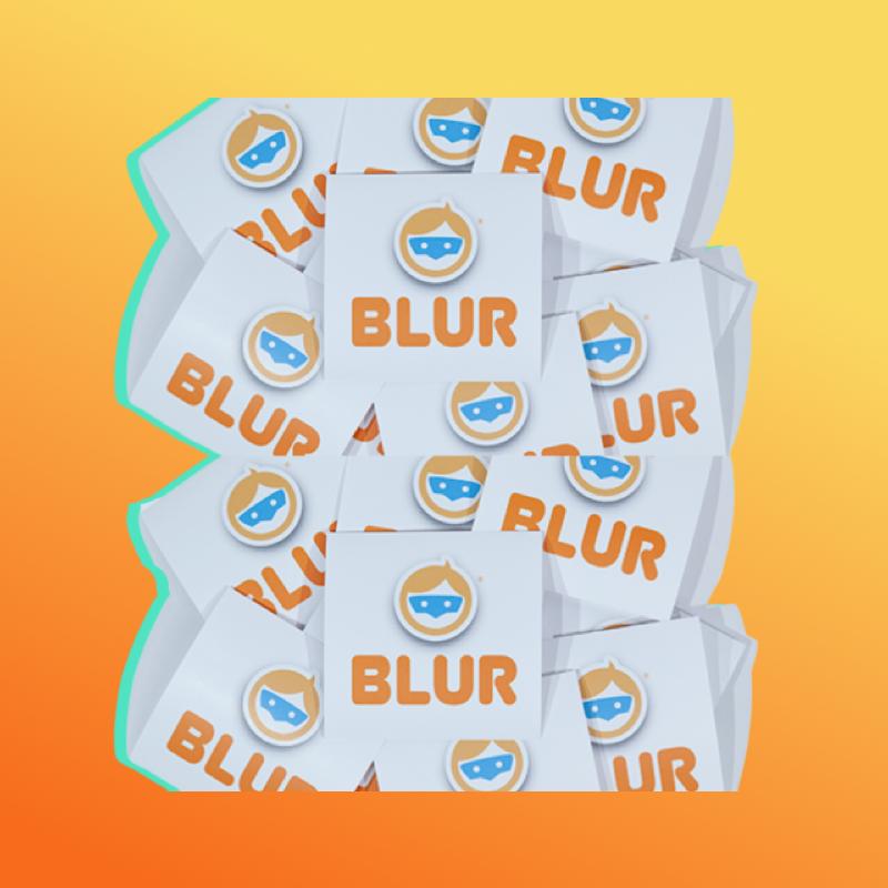 BLUR Logo + Copy-10 Pack