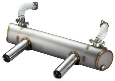 KARMANN GHIA AND EXTREME LOWERED VW BUG SPORT EXHAUST SYSTEM 50/35