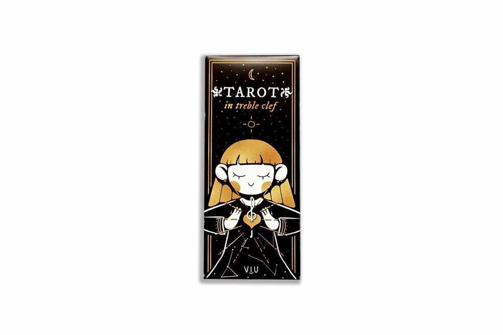 TAROT in treble clef card deck