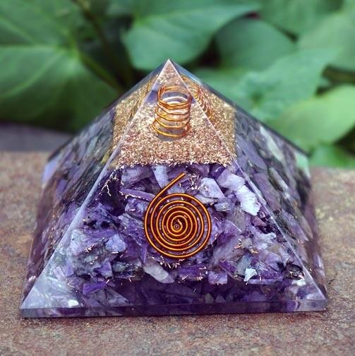 Orgone Pyramid in Charoite