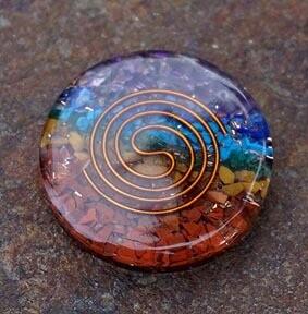 Chakra Orgone Disks