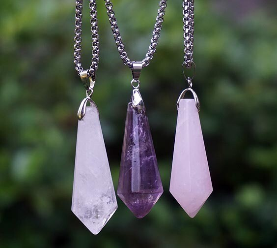 Faceted Crystal Points