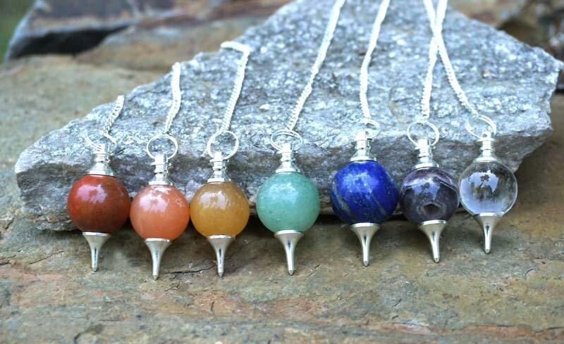 Chakra Pendulums Set
