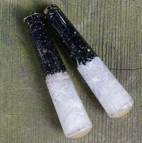 Orgone Selenite Wands