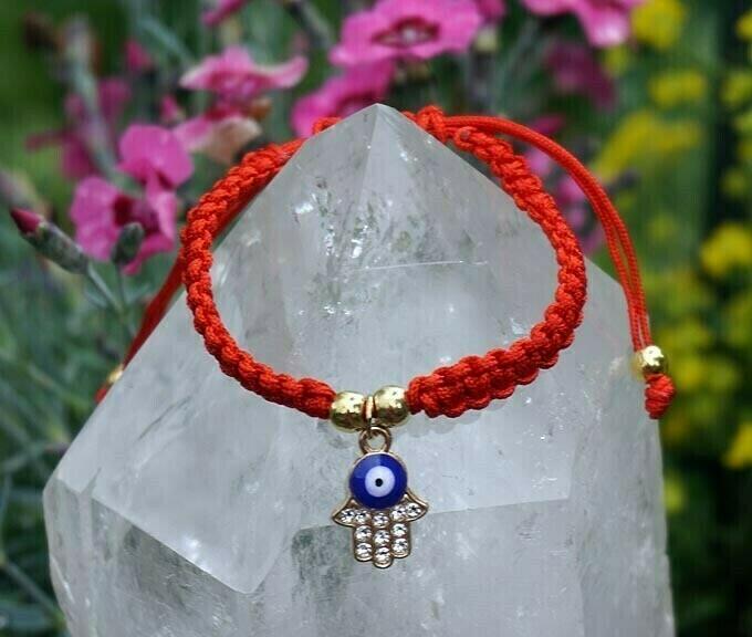 Red String Hamsa Bracelets