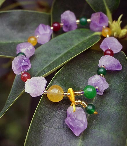 Violet Flame Bracelet