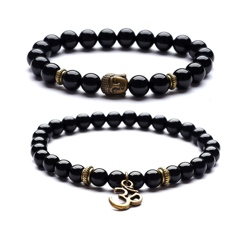 Buddha OM Duo Bracelets in Bulk