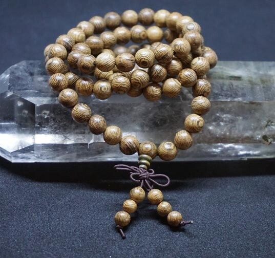108  Wood Prayer Beads