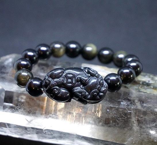 PiXiu Obsidian Bracelets